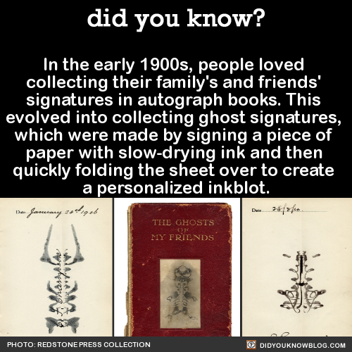 did-you-kno:In the early 1900s, people loved collecting their...