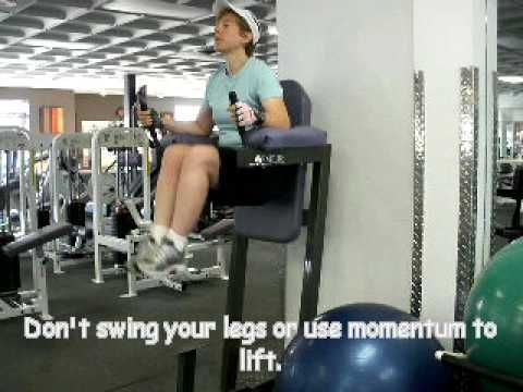 Abdominal Exercise Instructions Captain S Chair Hanging Leg Raises