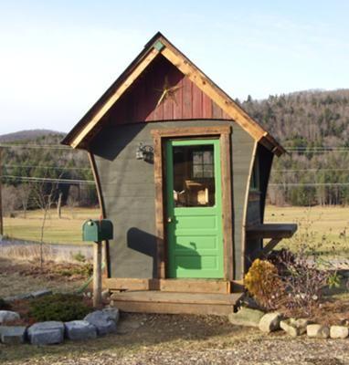 garden studio from recycled materials - Garden Sheds From Recycled Materials