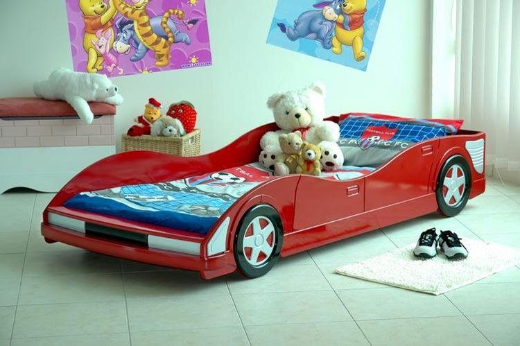 Letto A Forma Di Auto.70 Letti Per Bambini A Forma Di Macchine E Veicoli Vari Letto A