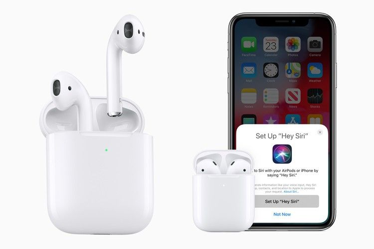 New Apple Airpods Now Available H1 Chip Wireless Charging Case Hands Free Hey Siri 9to5mac Apple Airpods 2 Apple Launch Wireless In Ear Headphones