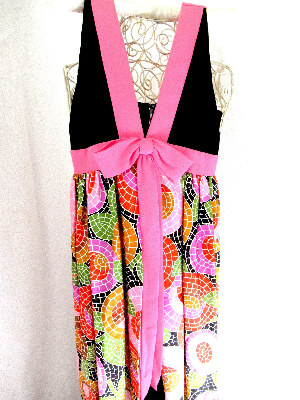 Vintage s evening dress jump suit dress long pants dress us