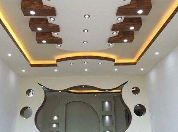 ديكور سقف اجمل 50 فكرة لاسقف جبس بورد مميزة لمنزلك قصر الديكور Ceiling Design Modern Modern Ceiling Ceiling Design