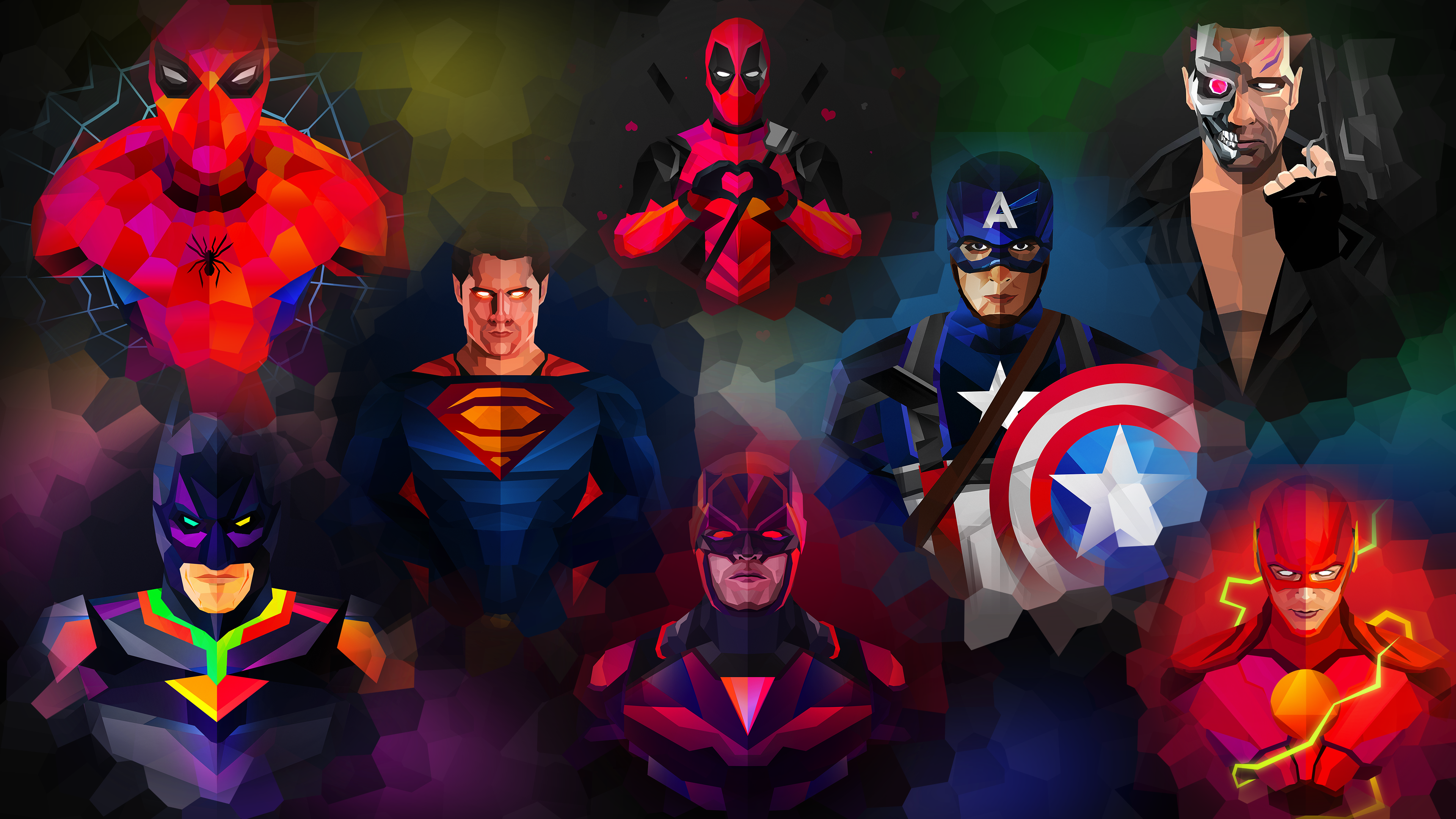 Superhero 4k Wallpaper Wallpapers Wallpaper Marvel Wallpaper