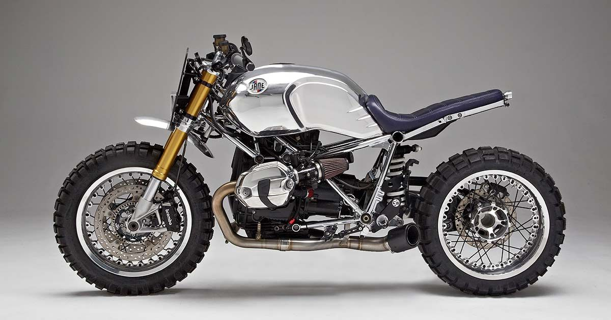 Not So Plain Jane Motorcycles Gleaming Bmw R Ninet Bike Exif Bmw Motorcycles Motorcycle