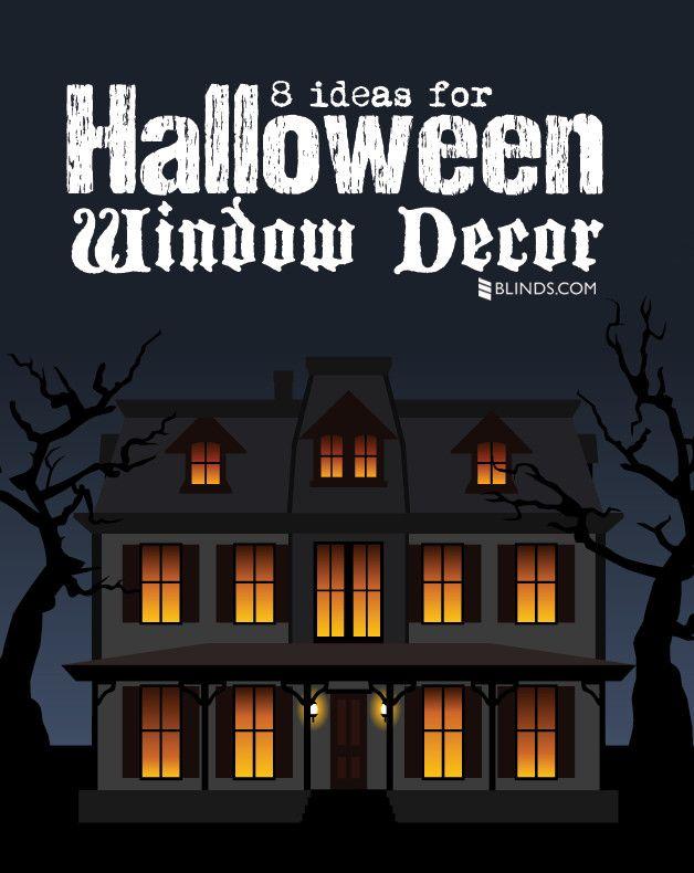 Halloween Decorating Ideas - Halloween Window Decor Spooky Windows - halloween window decorations