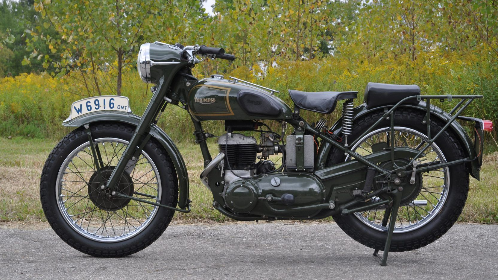 1942 Triumph Trw 500 S17 Las Vegas 2015 Trw Mecum Auction Classic Motorcycles