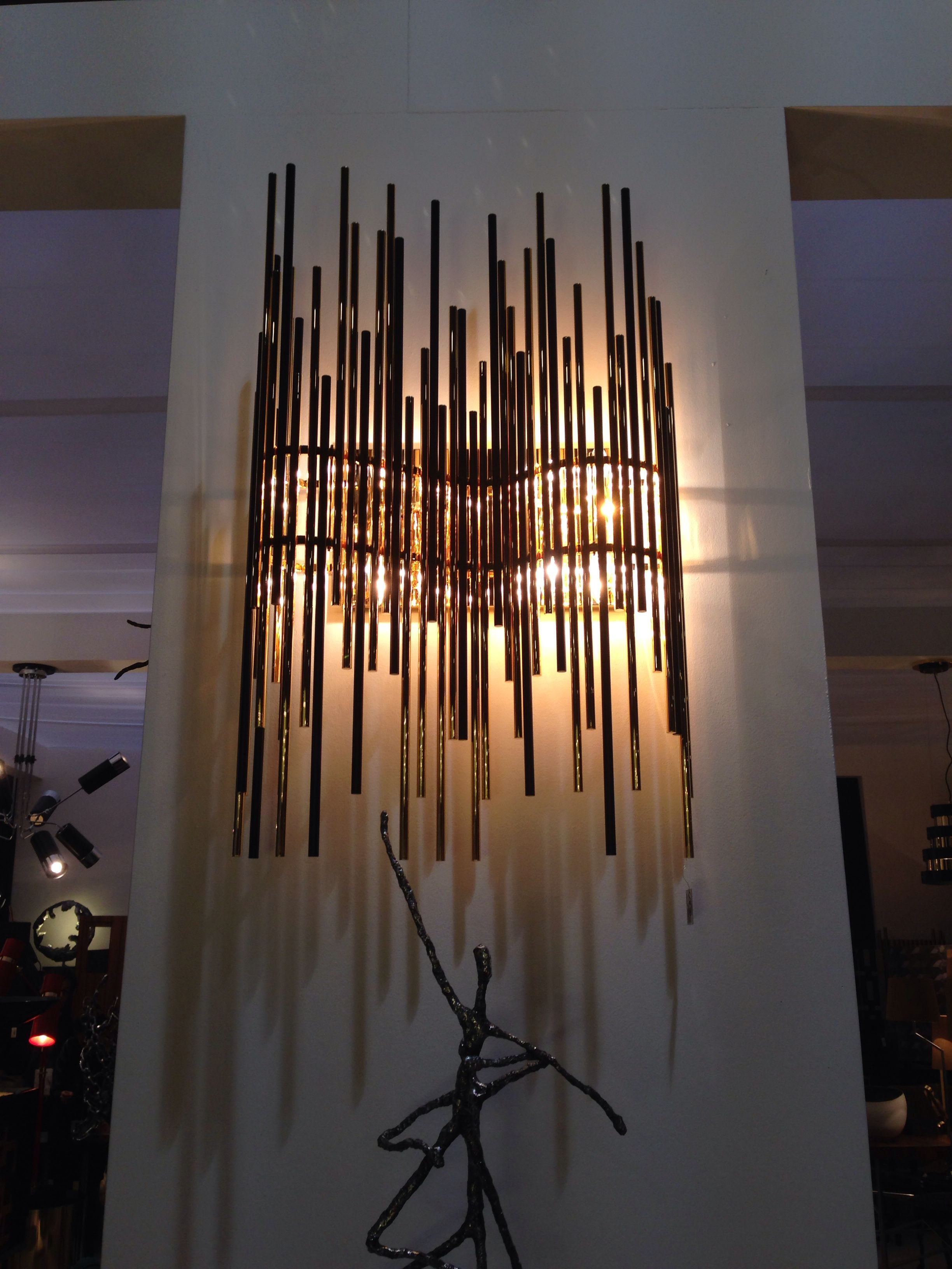 Dramatic Feature Wall Light Shabby Chic Lights Led