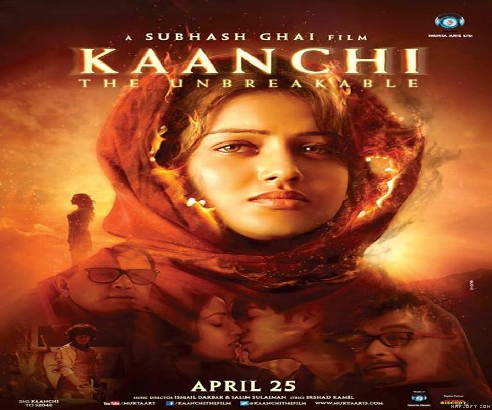 Bollywood Movie Poster - Kaanchi (2014) by Wapking.cc