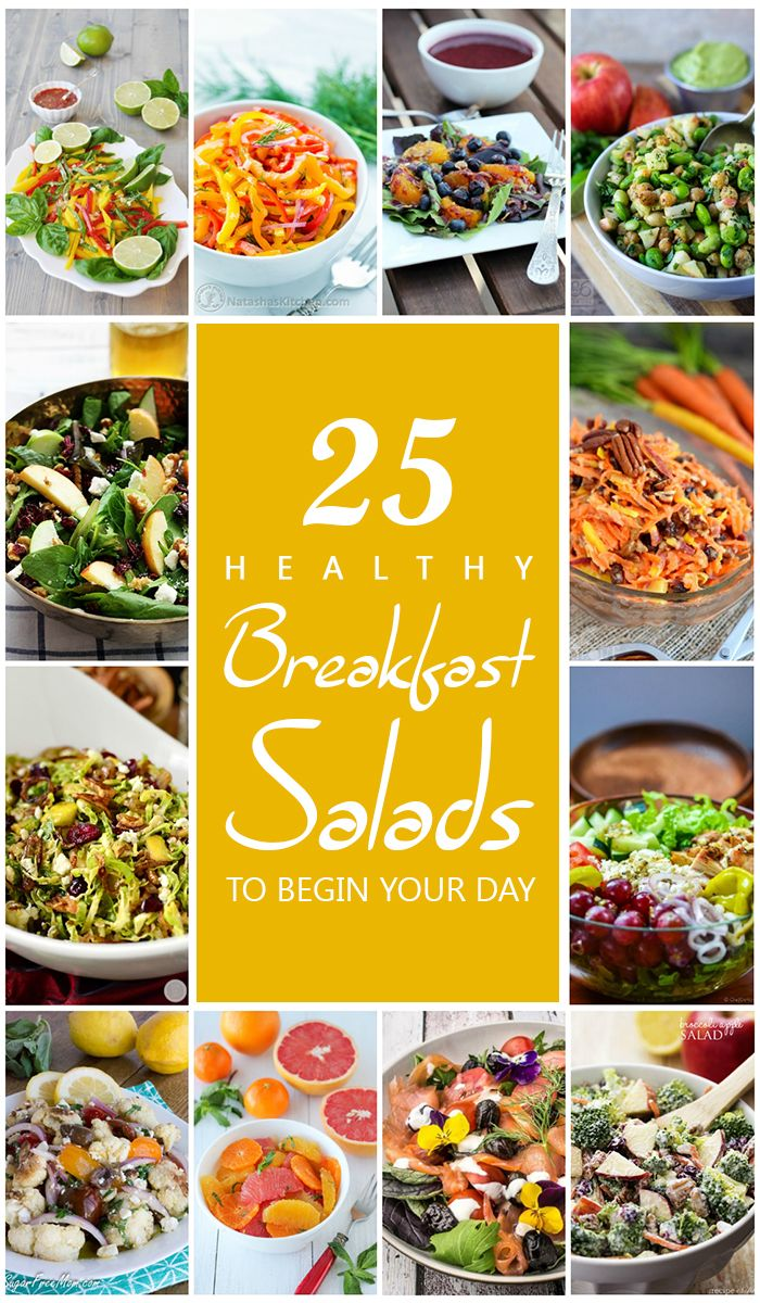 25 Healthy Breakfast Salads to Begin Your Day | Breakfast salad, Healthy  recipes, Healthy eating