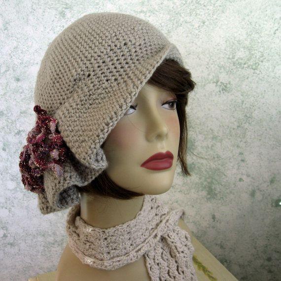 Crochet el sombrero de estilo patrón sombrero por kalliedesigns ...