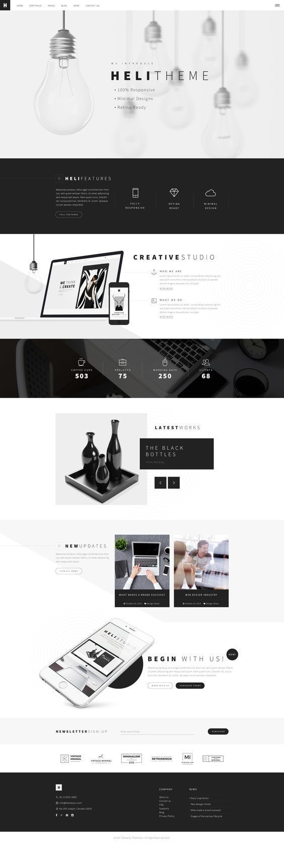 Here's another web design inspiration just for you!