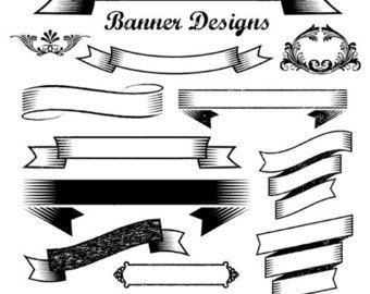 vintage banner clipart google search don t give up the ship rh pinterest com