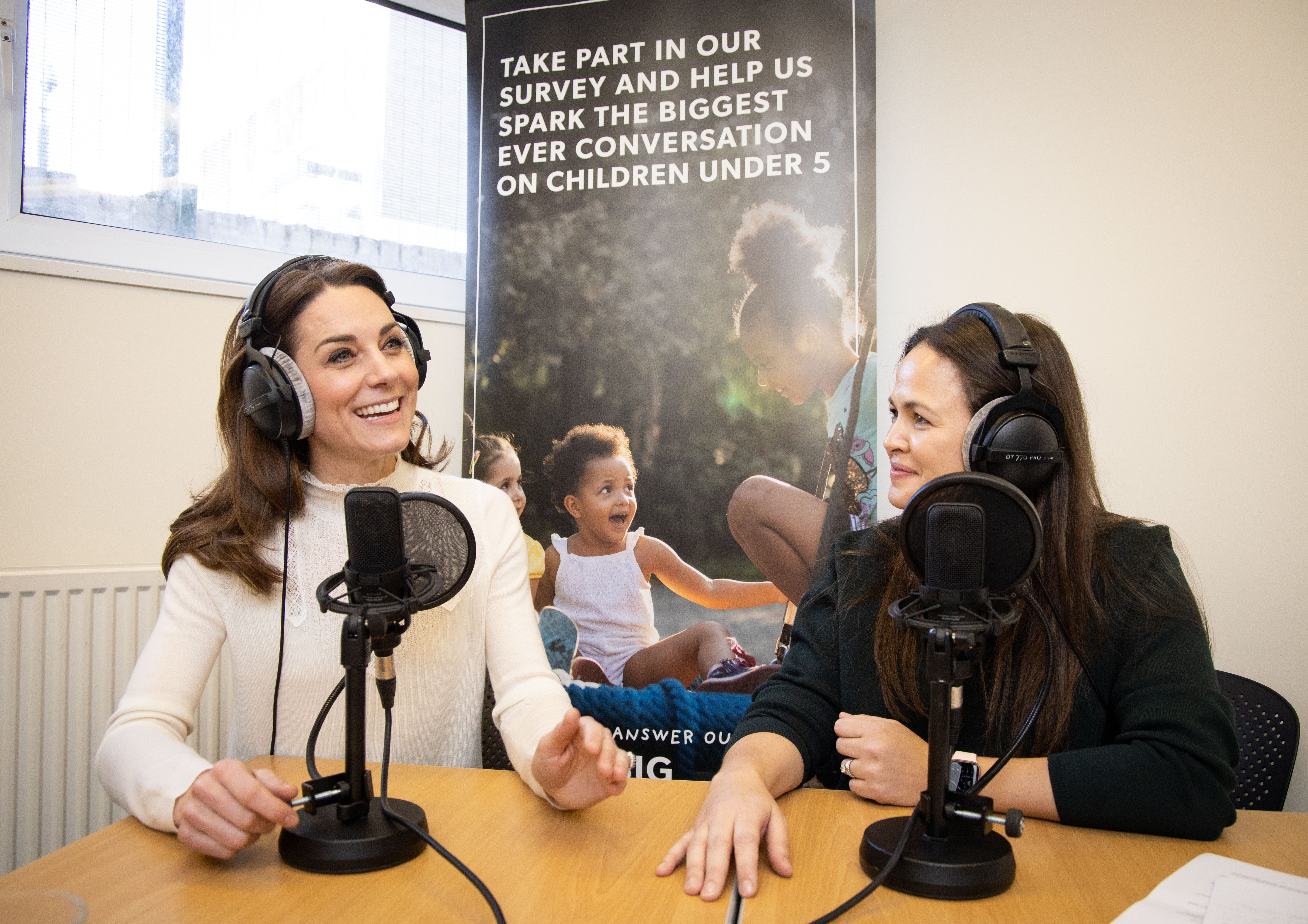 Duchess Kate shares she has 'mom guilt' in podcast debut