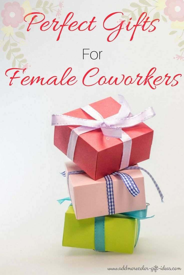 Get The Perfect Gift A Female Coworker Really Will Love