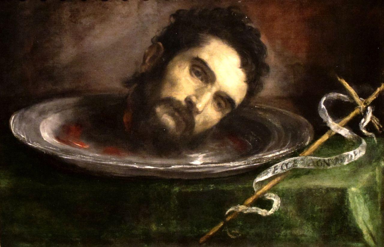 Head of St. John the Baptist, Titian