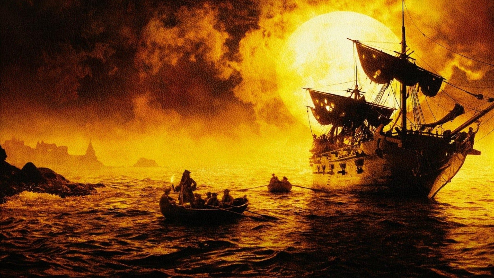 Pirates Of The Caribbean The Curse Of The Black Pearl Desktop