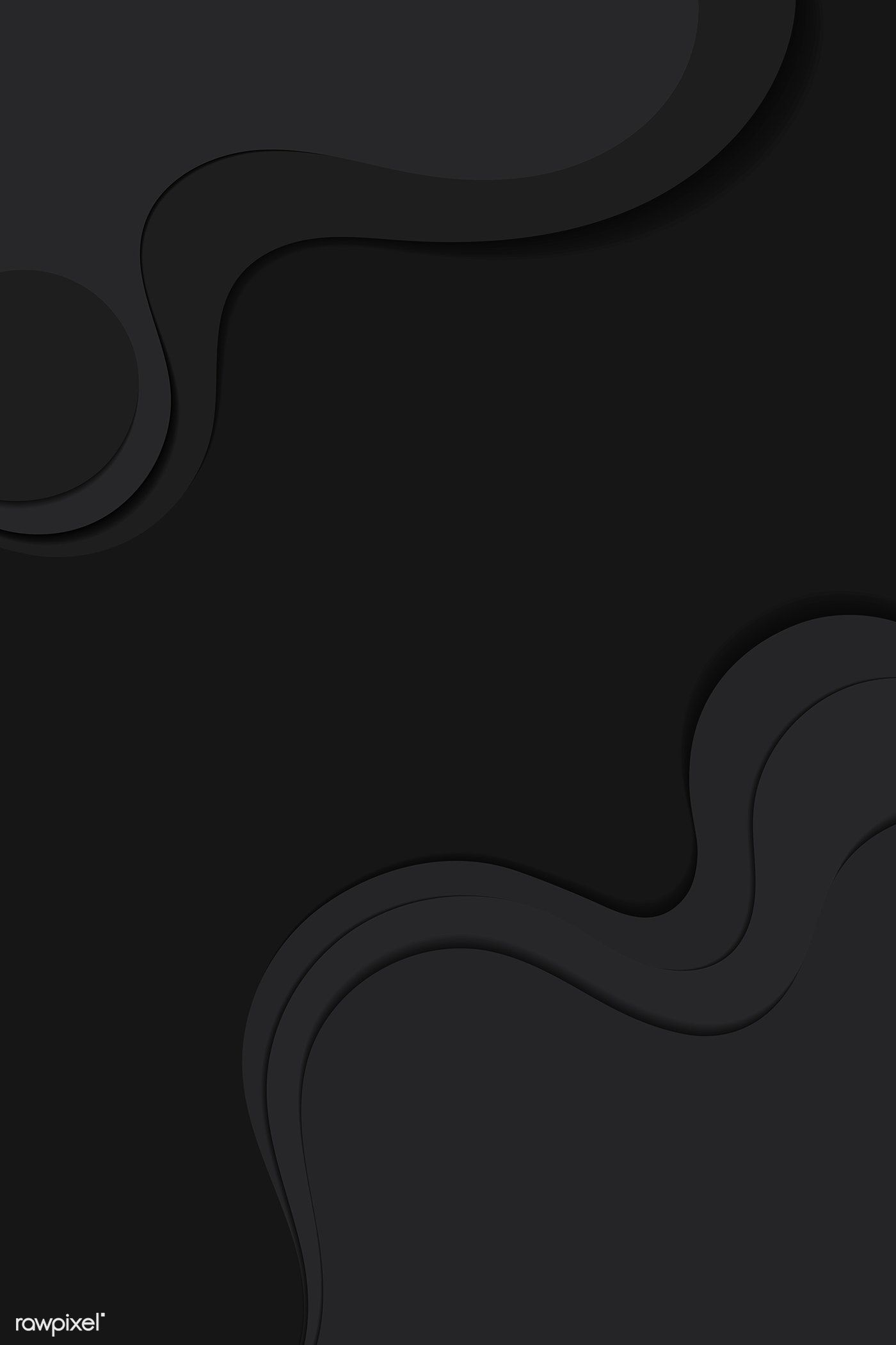 Download premium vector of Abstract black curve background vector by sasi about 2050255, abstract, banner, dark bg and dark background 2050255