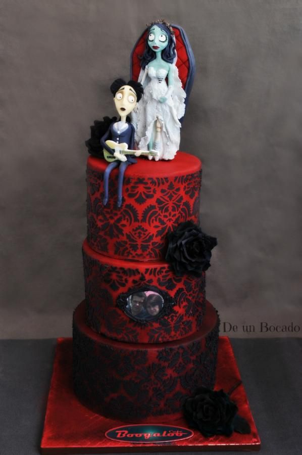 Corpse Bride - Cake by Carmen | Cakes & Cake Decorating ~ Daily ...