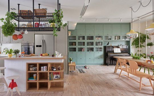 A Kitchen Design that Kids Will Love   Verde, Disfruta y Vivir