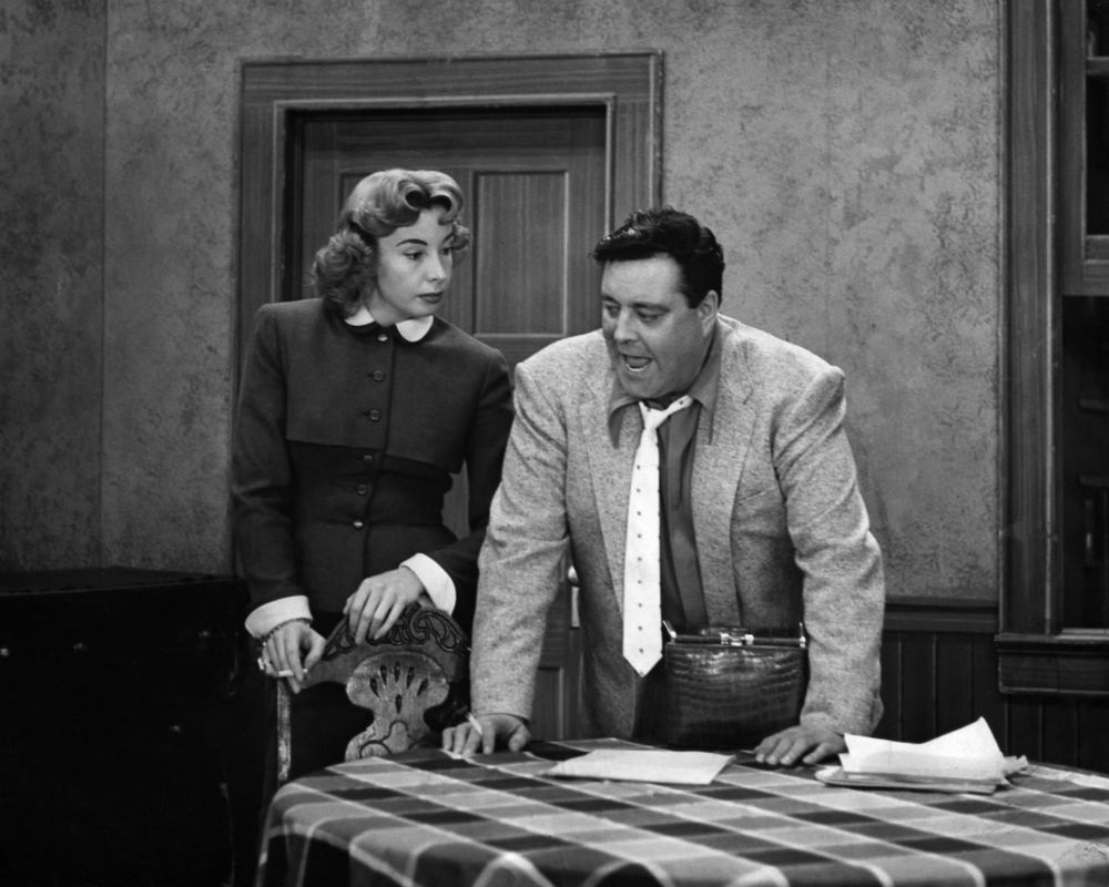"AUDREY MEADOWS & JACKIE GLEASON ""THE HONEYMOONERS"