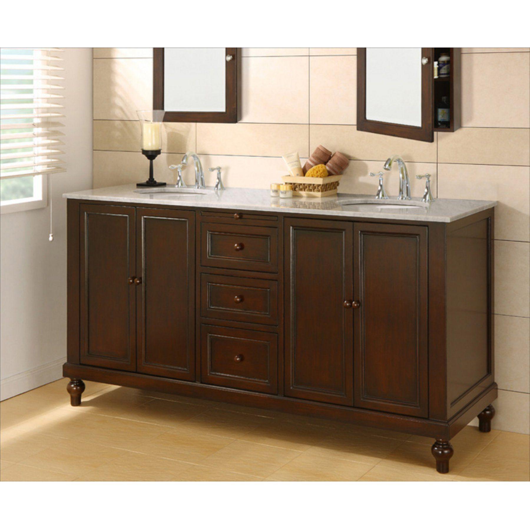 Direct Vanity Sink 6070d9 E Classic 70 In Double Bathroom Vanity