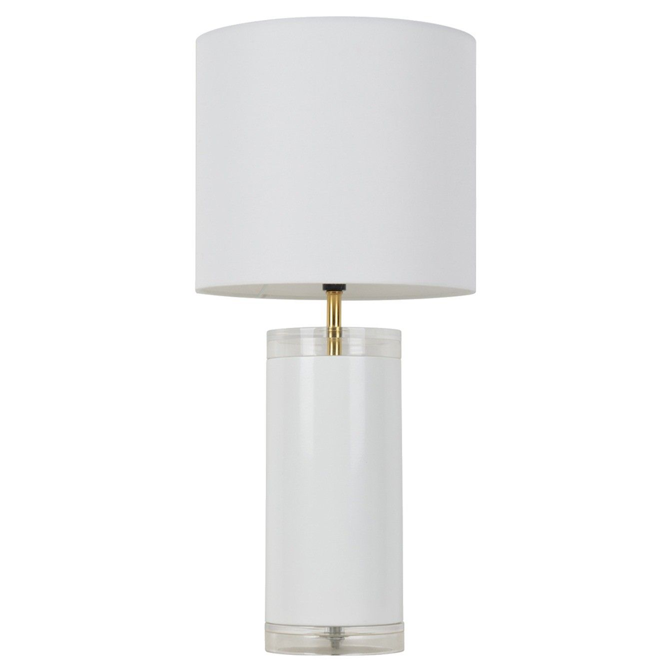 31 99 At Target Acrylic Table Lamp Includes Cfl Bulb Room Essentials White Table Lamp Table Lamp Target Table Lamps