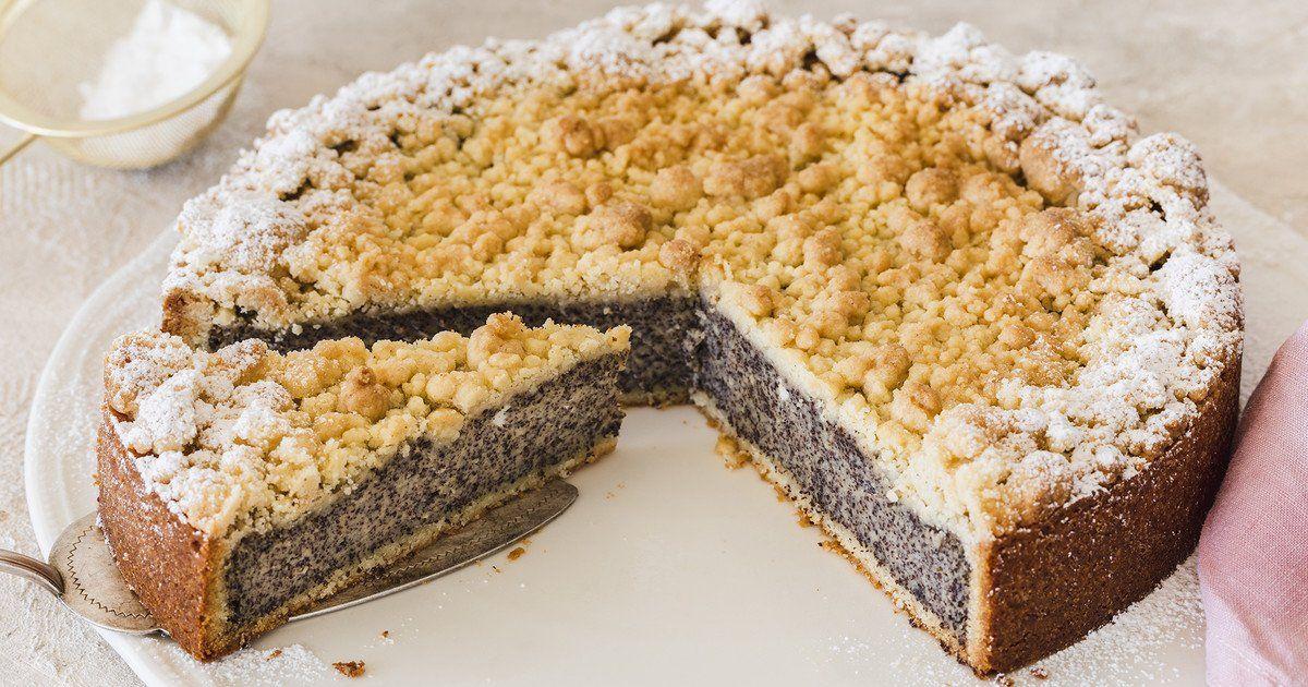 Mohnkuchen mit Streusel – der leckere Klassiker | Die besten Backrezepte mit Gelinggarantie