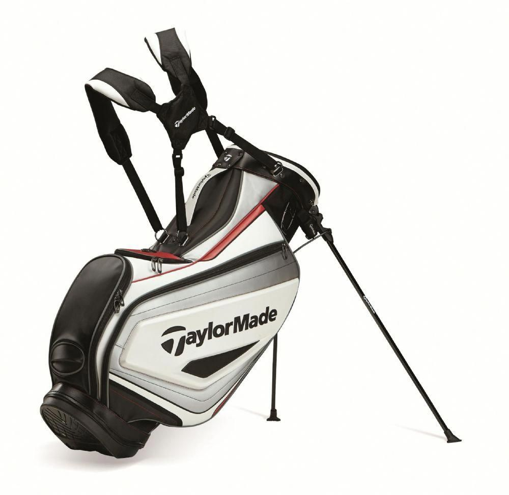 Taylormade Golf 2017 Tour Stand Bag White Black