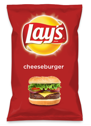 Wouldn't cheeseburger be yummy as a chip? Lay's Do Us A Flavor is back, and the search is on for the yummiest flavor idea. Create a flavor, choose a chip and you could win $1 million! https://www.dousaflavor.com See Rules.