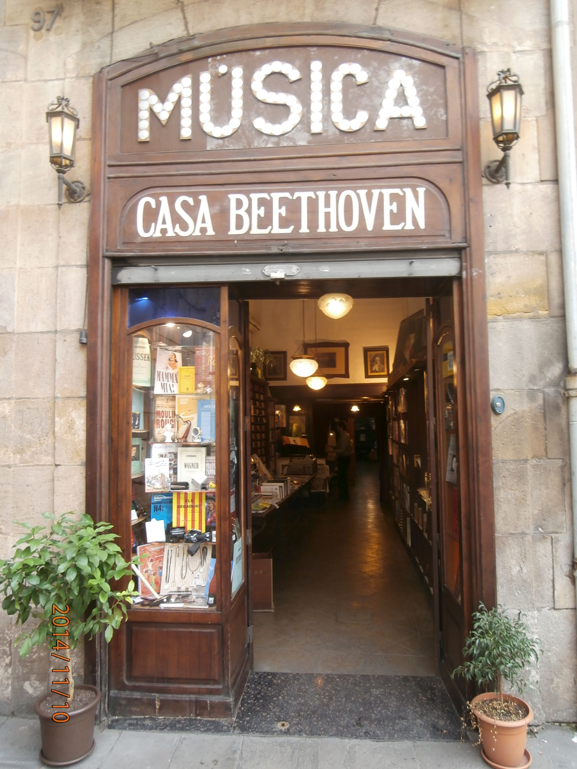 Casa de música...