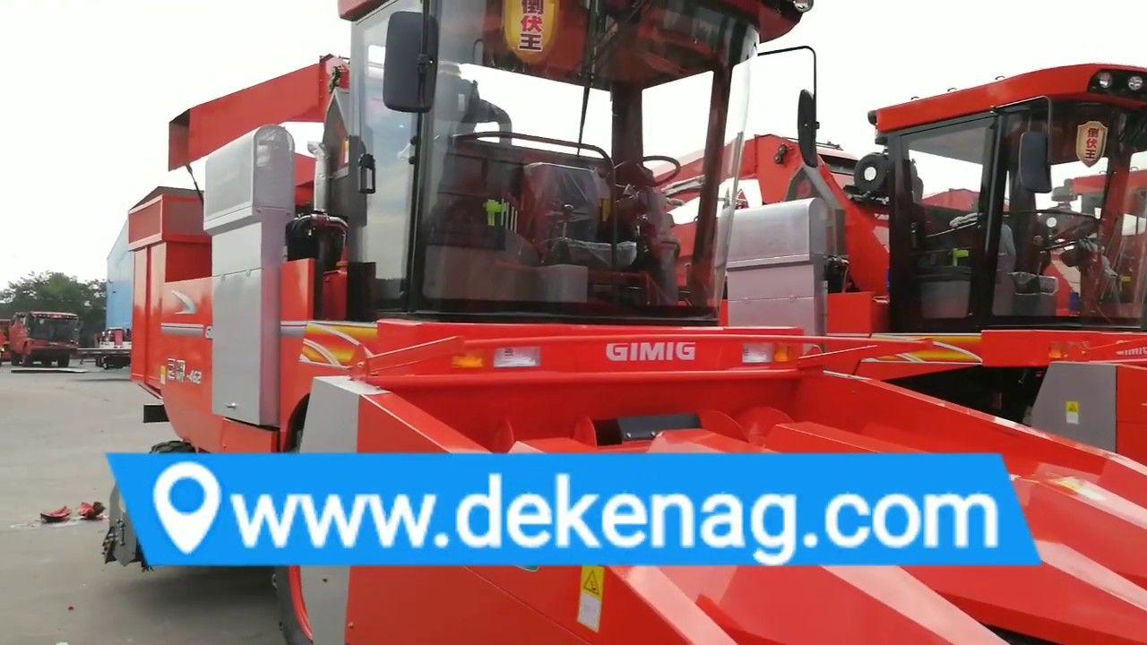 China Gimig 4 Rows Corn Harvester Harvester China The Row