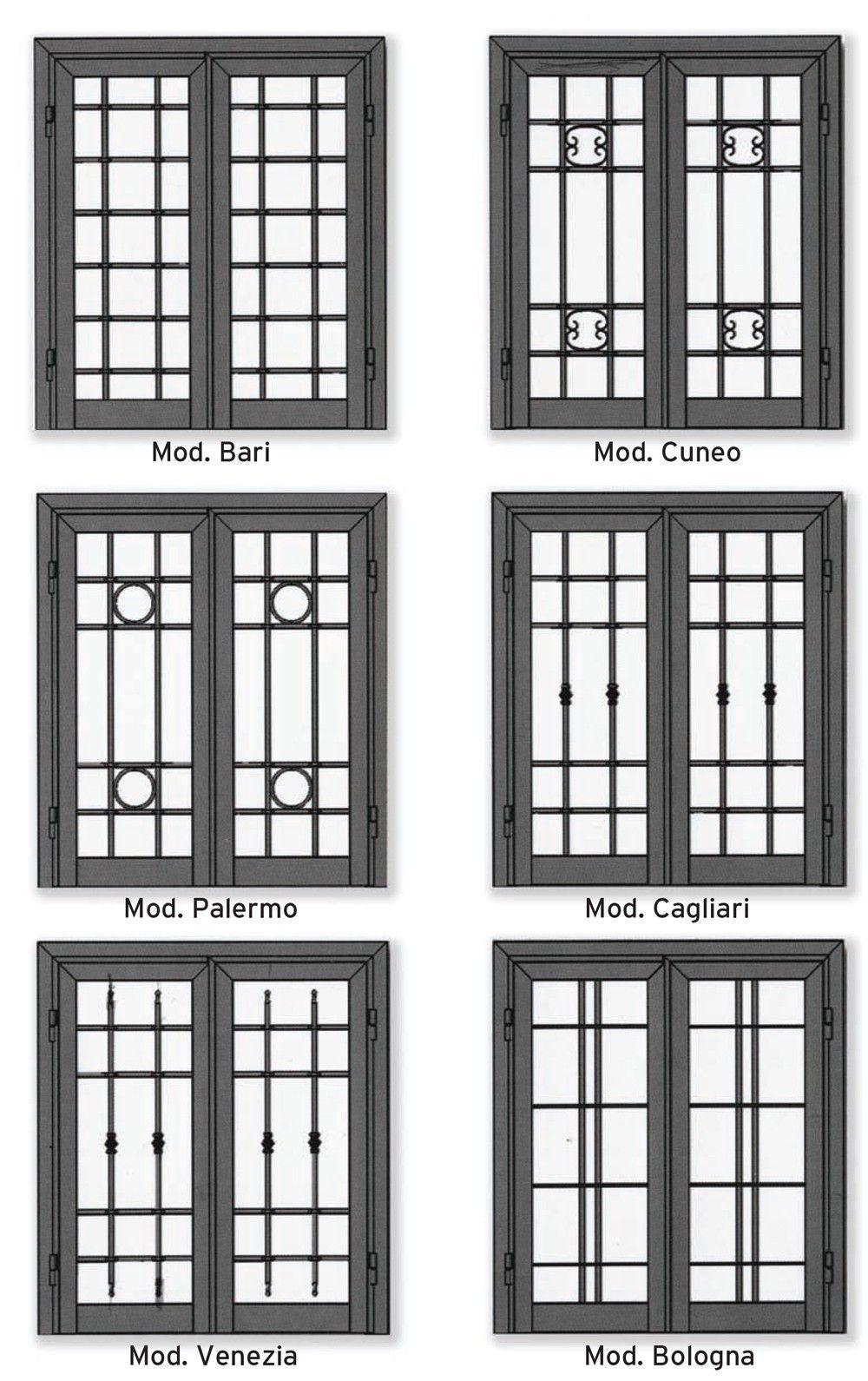 Risultati immagini per grate in ferro per finestre otf for Grate in ferro battuto immagini