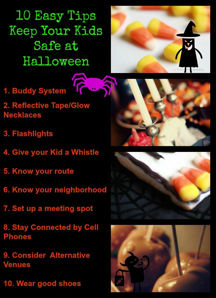 Keeping your Kids Safe at Halloween While Trick-or-Treating - neighborhood halloween party ideas