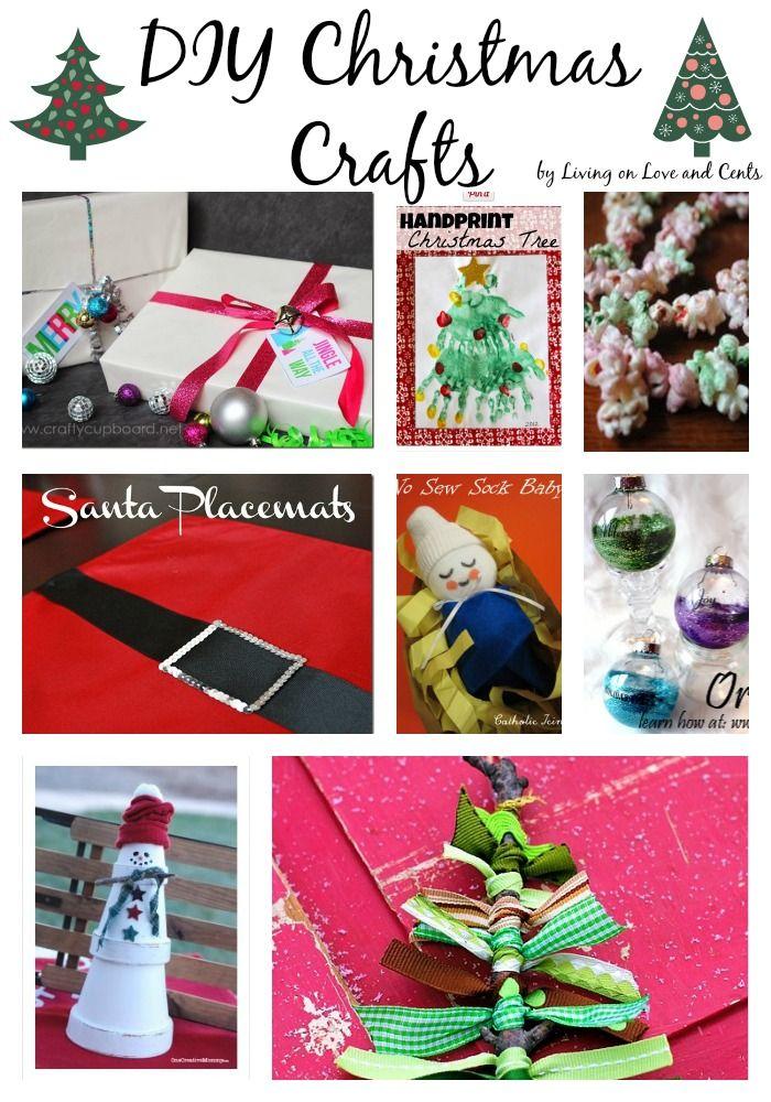 Family Christmas Craft Ideas Part - 34: DIY Christmas Crafts: Christmas Craft Ideas For The Whole Family