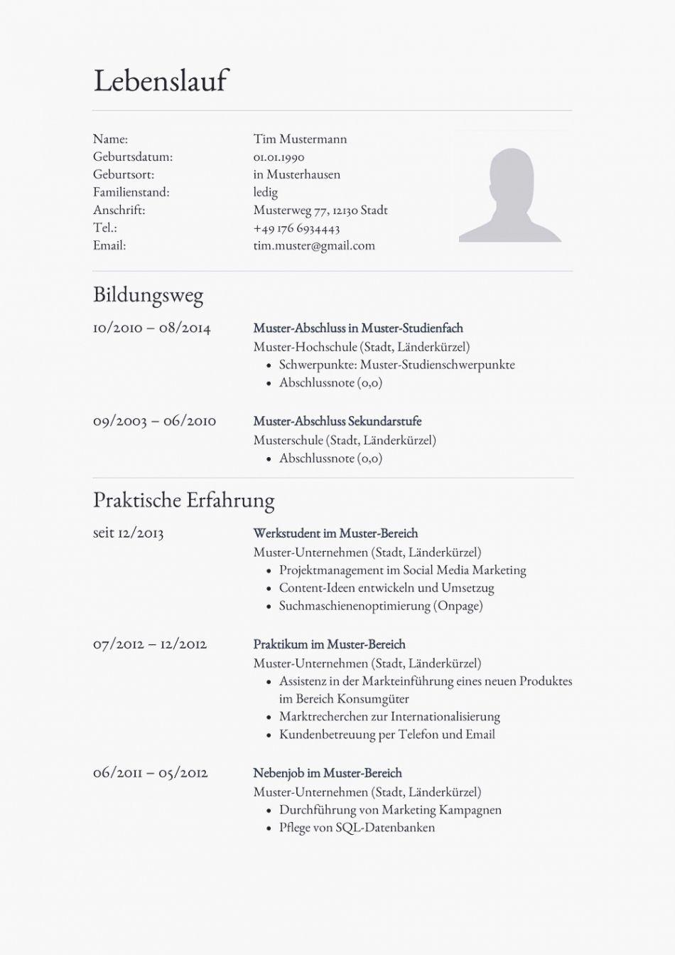 Durchsuche Unsere Das Beispiel Von Tabellarischer Lebenslauf Auf Englisch Vorlage Lebenslauf Vorlagen Lebenslauf Lebenslauf Muster