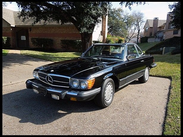 This 1983 MercedesBenz 380SL Convertible with its