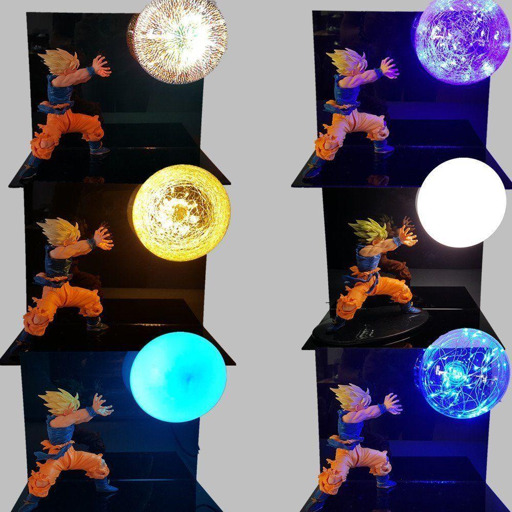 Dragon Ball Saiyan Goku Kamehameha Led Light Figure Nakama Store Anime Dragon Ball Dragon Ball Anime Dragon Ball Super