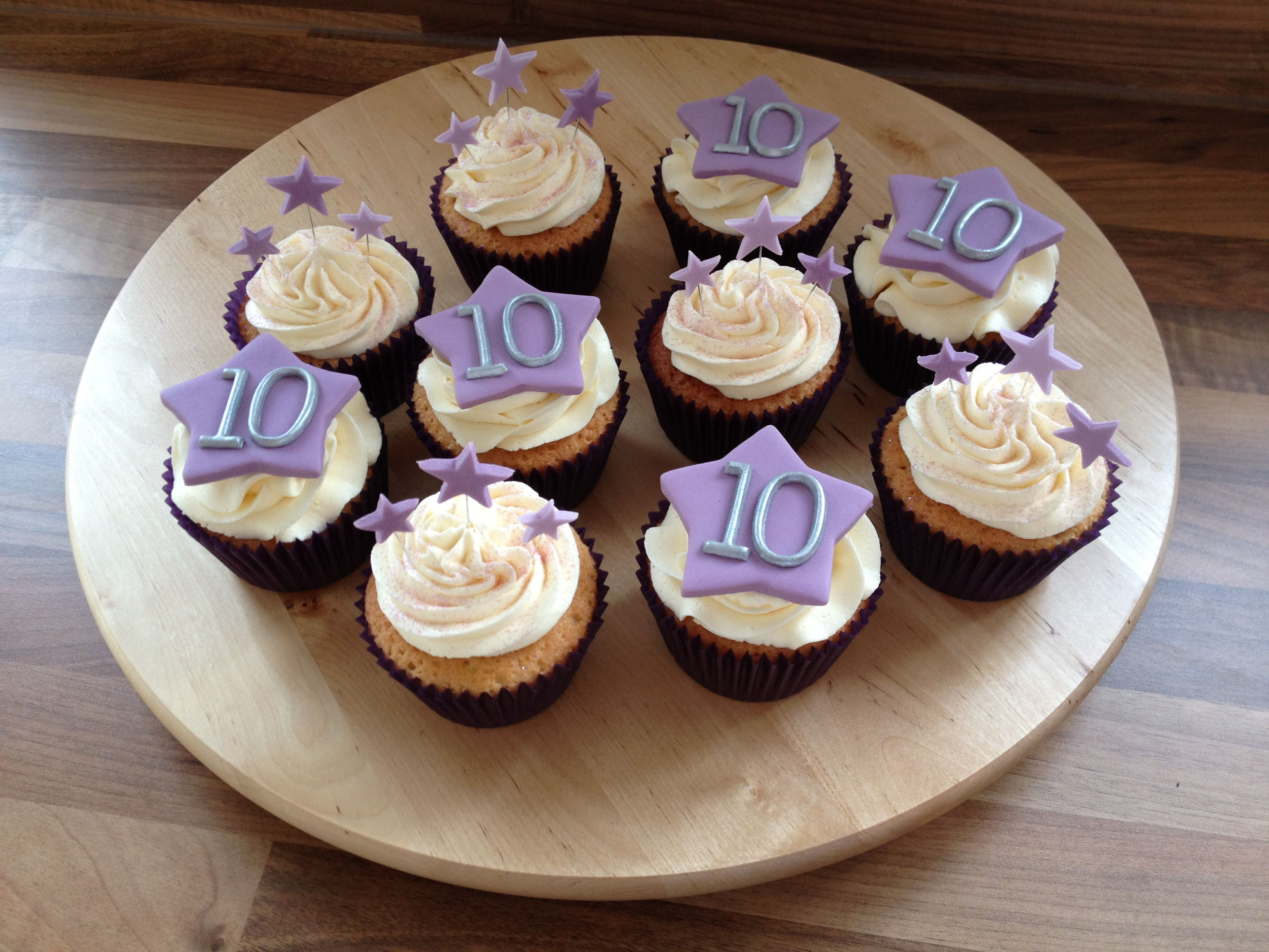 10th Wedding Anniversary Cupcakes My 10th Year