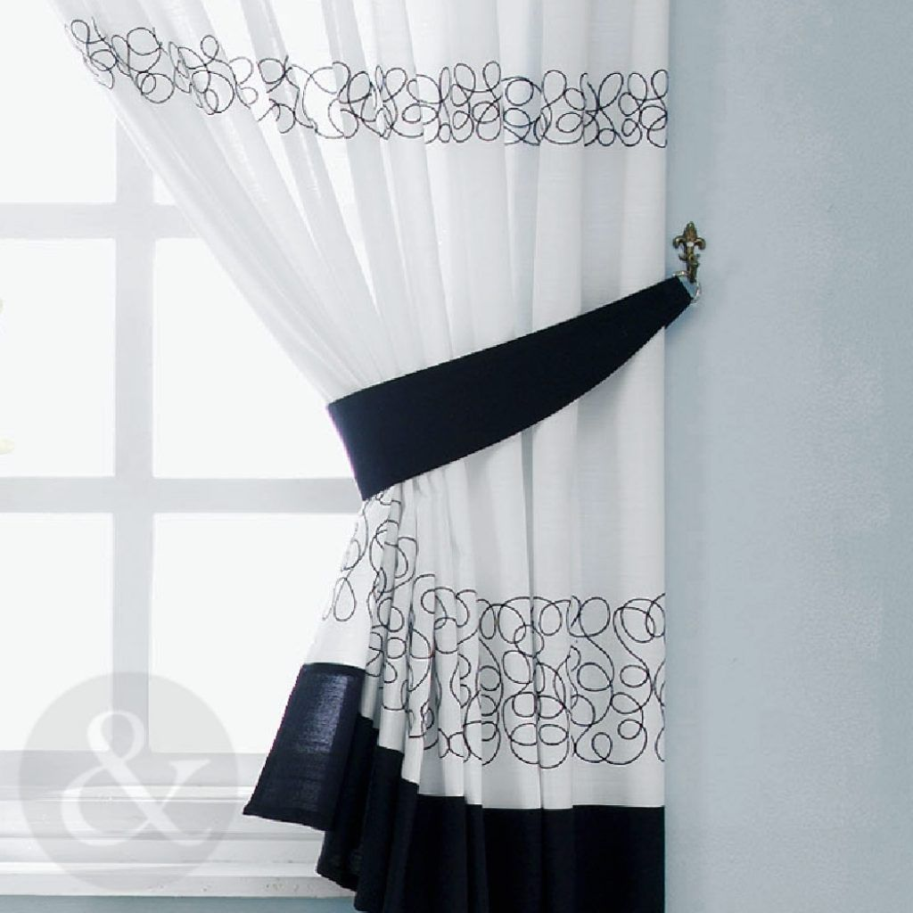 Black White And Red Kitchen Curtains Http Latulu Info Feed