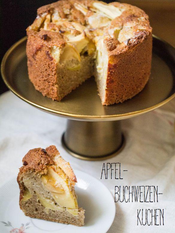Apfel Buchweizen Kuchen Bakes Cake Kuchen Vegan Cake