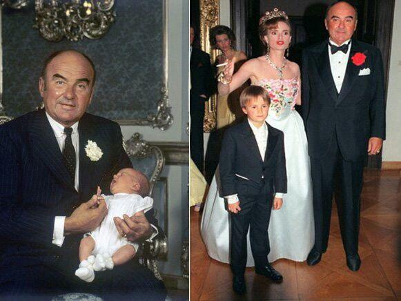 Furst Johannes Von Thurn Und Taxis Und Sein Sohn Albert Wedding Sneaker Style Royal Family