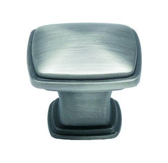 PULLS FOR CABINETRY: Finish satin pewter - View the Jamison Collection K81091 Square Rounded Corner Zinc Cabinet Knob 32mm at Build.com.