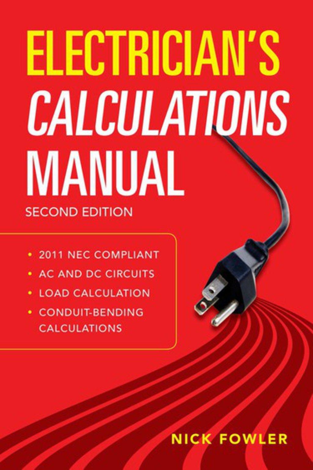 Electrician S Calculations Manual Second Edition Ebook