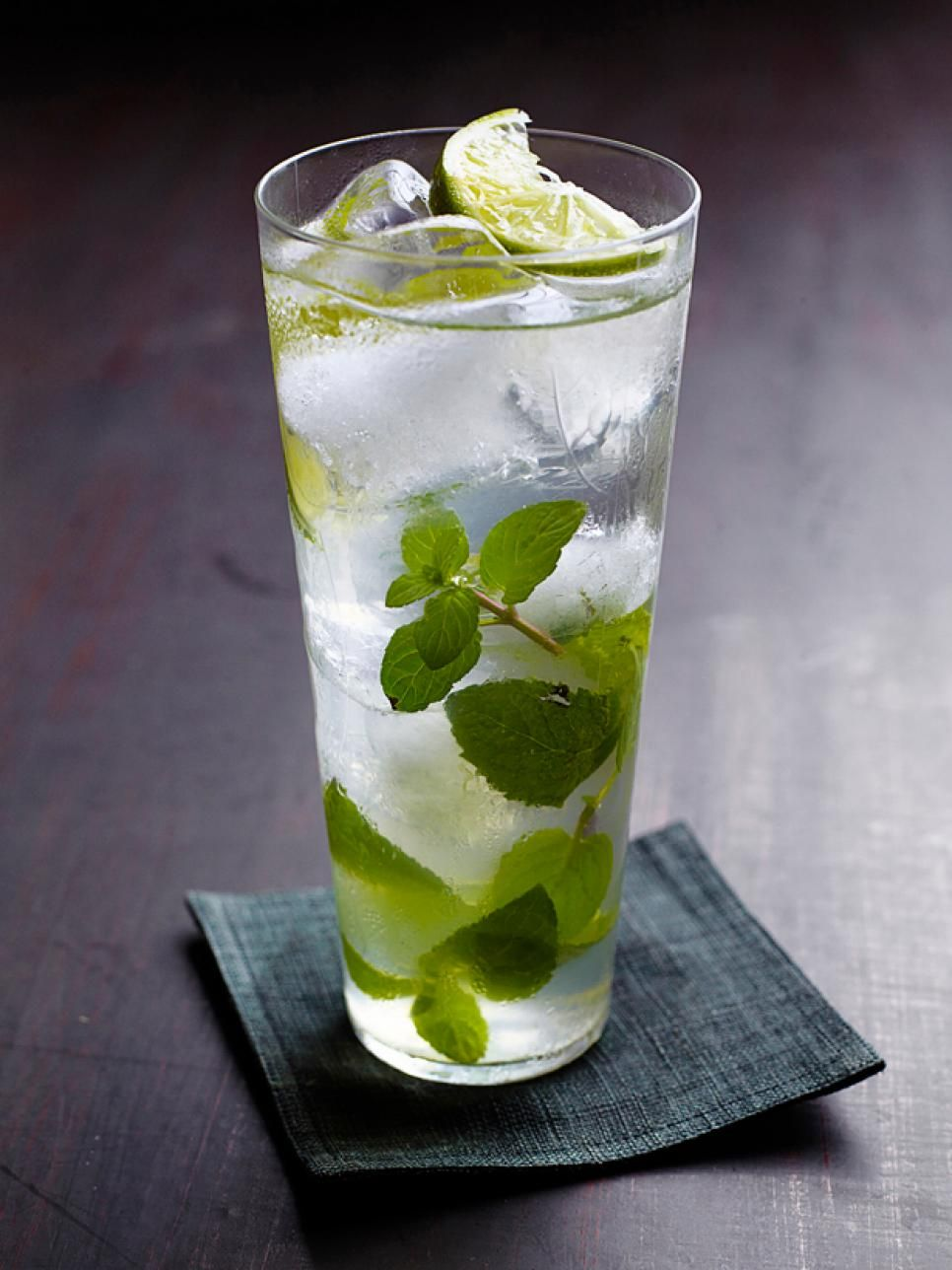 Lychee-Mint Spritzers  Bubbly and fresh, this mint and lime spritzer gets an unusual hit of flavor from a handful of lychees, a fruit native to China.