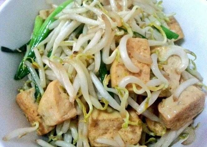 Stir fried bean sprout with bean curd recipe lets cook stir fried stir fried bean sprout with bean curd recipe lets cook stir fried bean sprout with solutioingenieria Image collections
