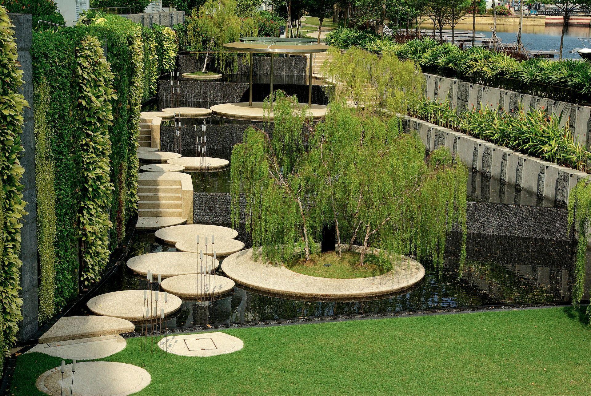The coast sentosa singapore by tierra design pod for Gartengestaltung urban