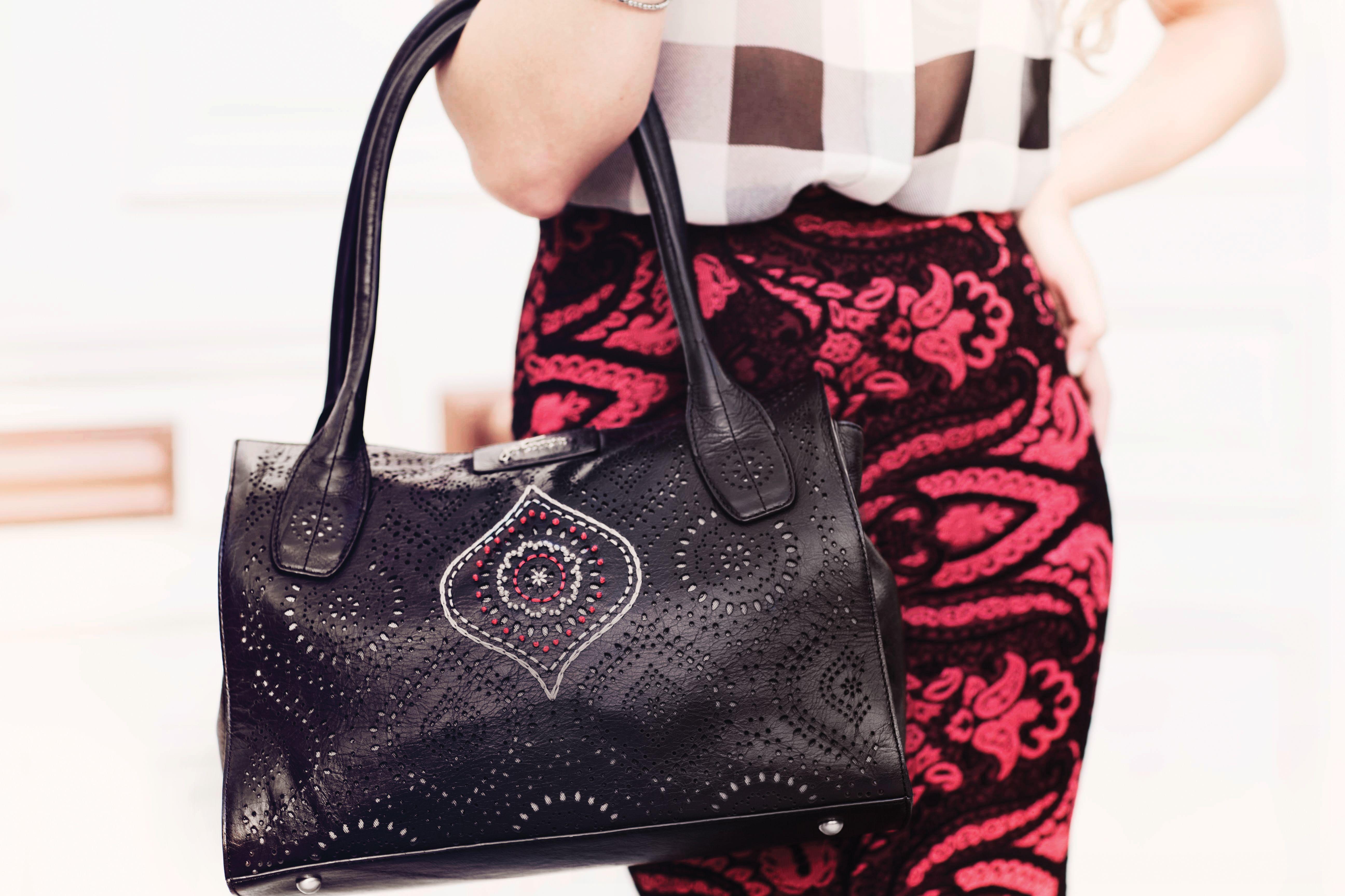 Petunia Handbags Leather