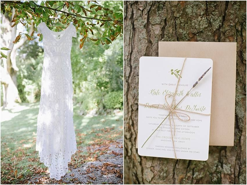 Late summer - Early Fall Wedding at Crossed Keys Estate by Off BEET Productions  // Rue De Seine Wedding Gown // Gray and Lavender Color Scheme // Rustic elegant country style // #wedding #love #bride #groom #weddingportrait #candid #weddinggown