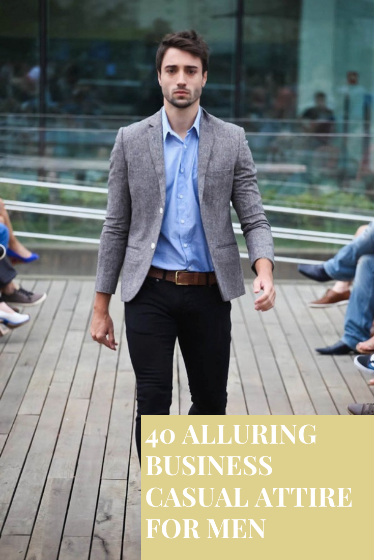 alluring business casual attire for men style pinterest